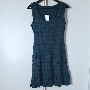 NWT Max Edition Teal Sleeveless Lace Dress